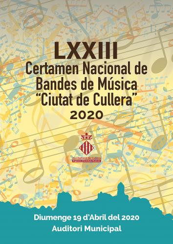 LXXIII CERTAMEN NACIONAL DE BANDAS