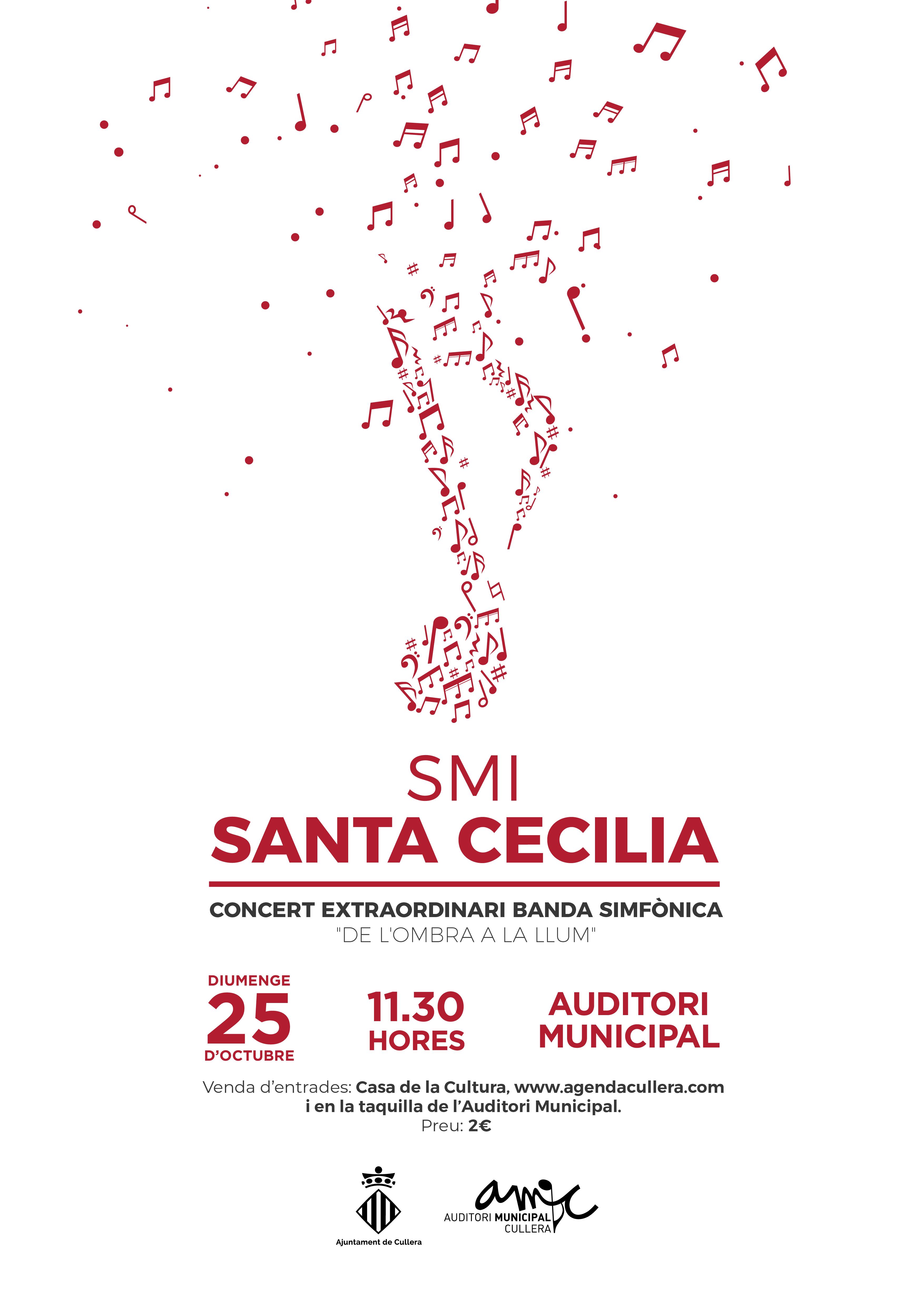 CONCERT EXTRAORDINARI DE LA S.M.I. SANTA CECILIA