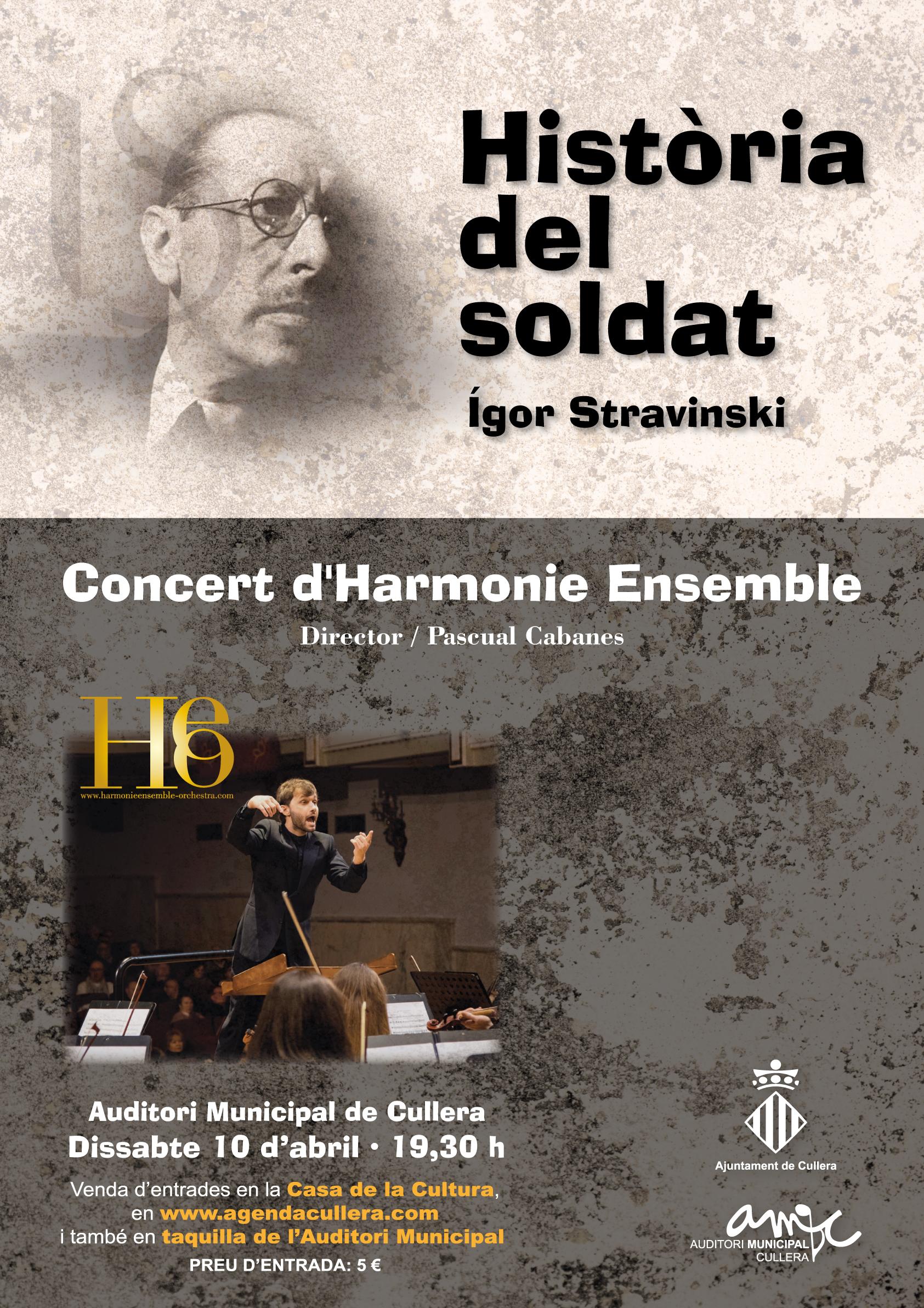 Història del soldat d´Ígor Stravinski