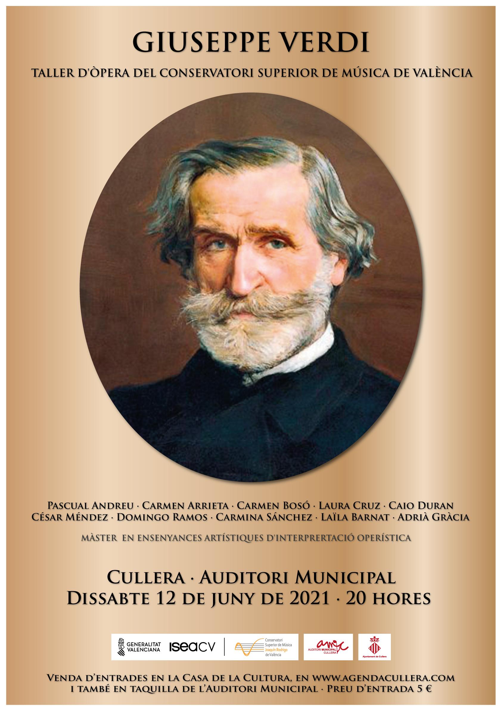 Una vesprada d´òpera amb Giuseppe Verdi
