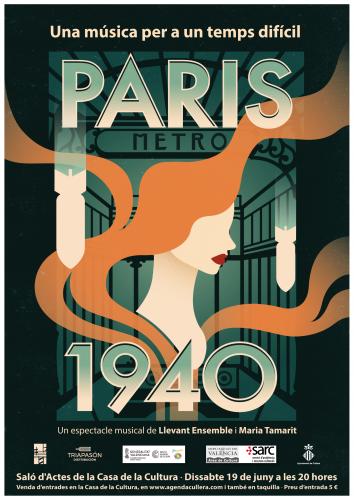 PARIS 1940: Una música per a un temps difícil