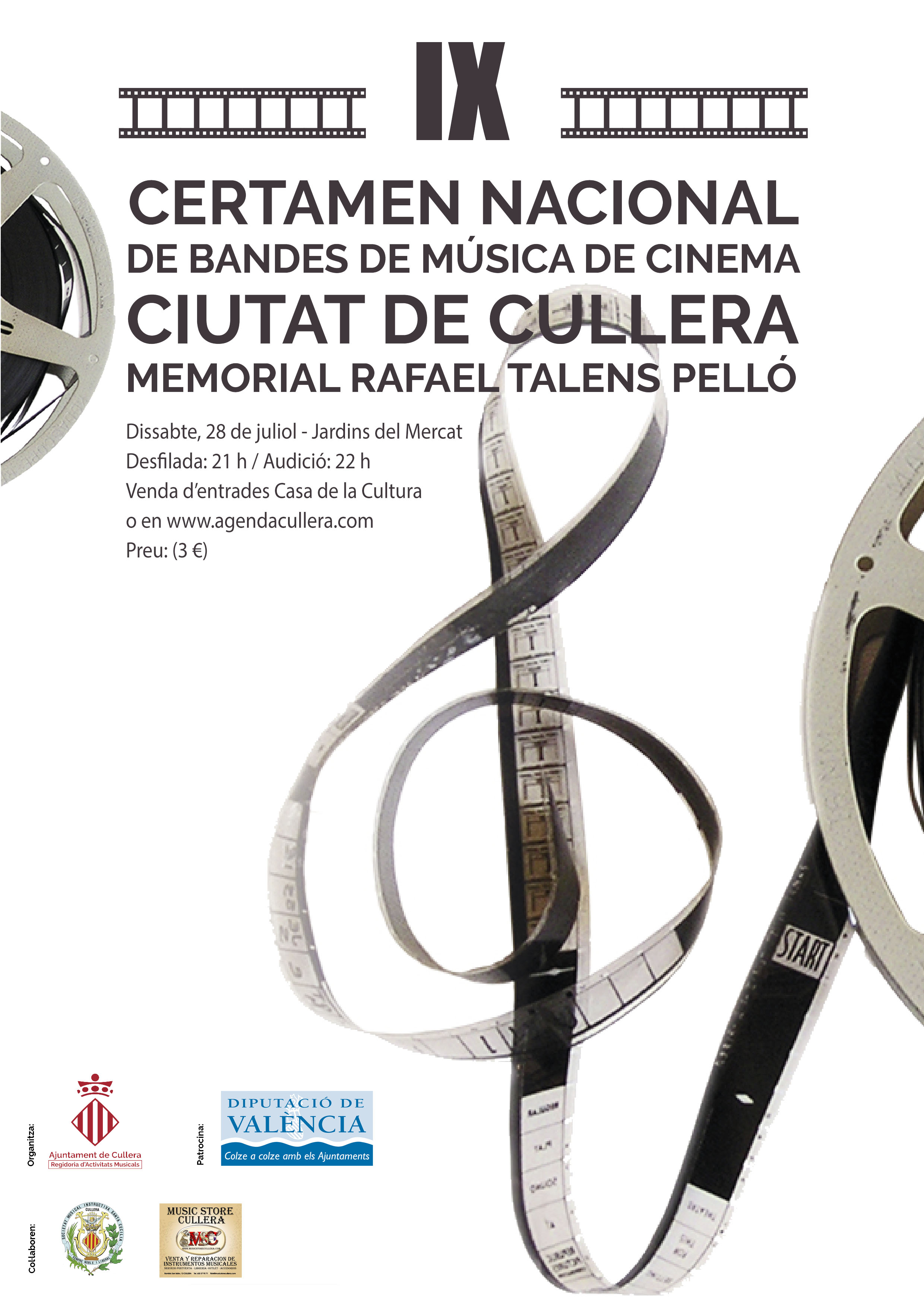 IX Certamen Nacional de Bandas de Musica de Cine